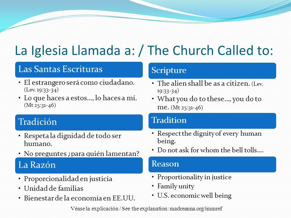Respuesta Episcopal / Episcopal Response