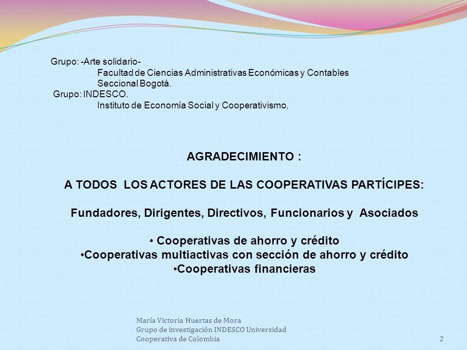 Grupo: -Arte solidario- Facultad de Ciencias Administrativas Económicas y Contables Seccional Bogotá.