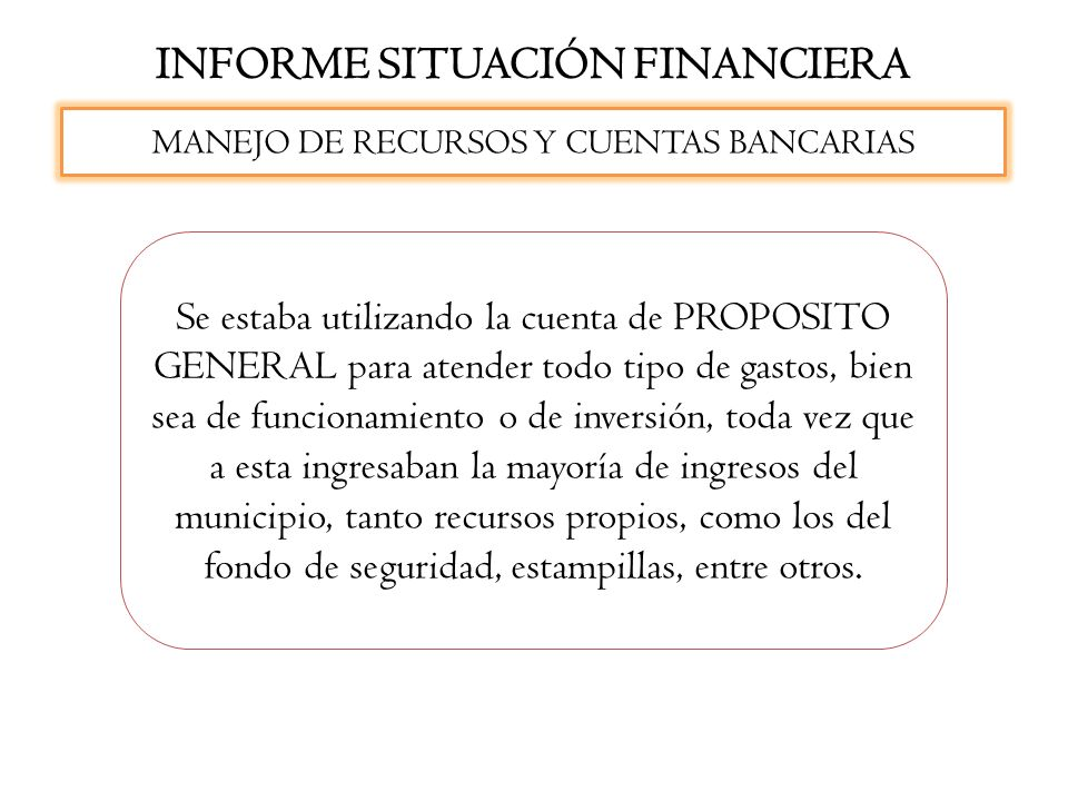 INFORME SITUACIÓN FINANCIERA No se halló copia de los últimos informes enviados a los Órganos de Control, tales como Contaduría General de la República, Contraloría General de la República o al Departamento Nacional de Planeación.