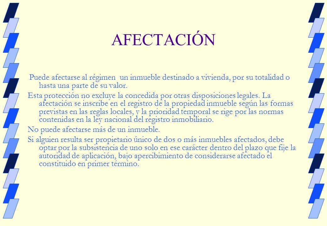 DERECHO REGISTRAL PROTECCIÓN A LA VIVIENDA Proyecto de CU Dra.Adriana N.Abella