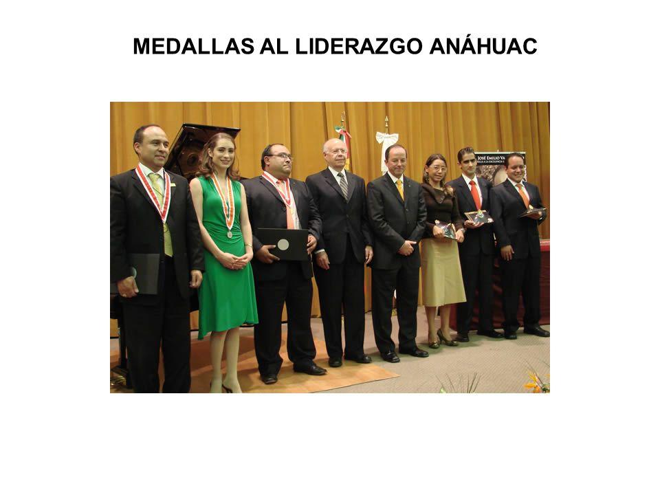 MEDALLAS AL LIDERAZGO ANÁHUAC