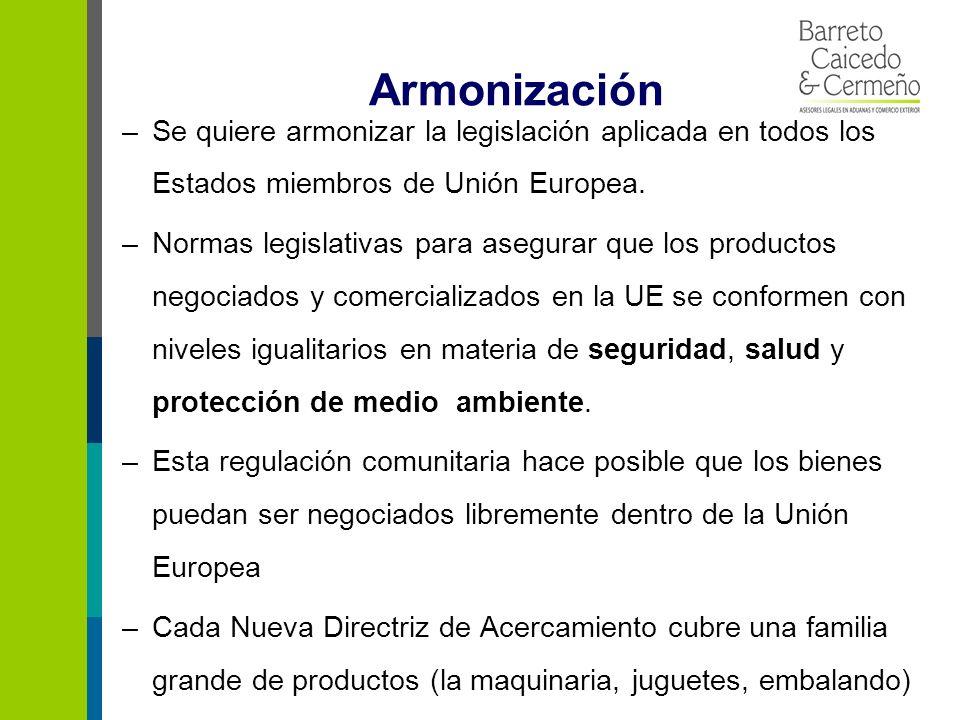 Recomendaciones 1.Implementar normas de la UE para poder exportar 2.Legislación sobre cada uno de los productos es muy importante para los socios comerciales de la UE.