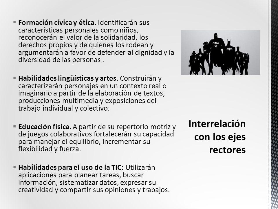 Formación cívica y ética.