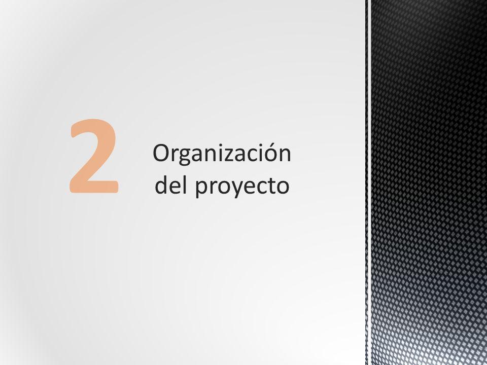 Organización del proyecto 2