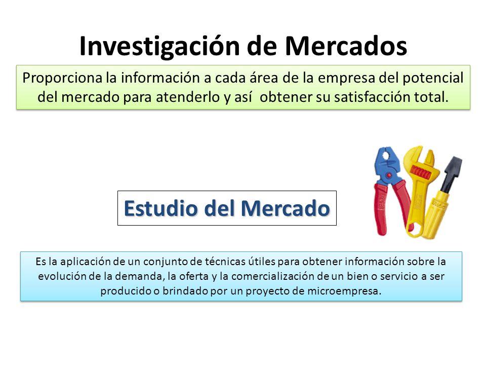 Proporciona la información a cada área de la empresa del potencial del mercado para atenderlo y así obtener su satisfacción total.