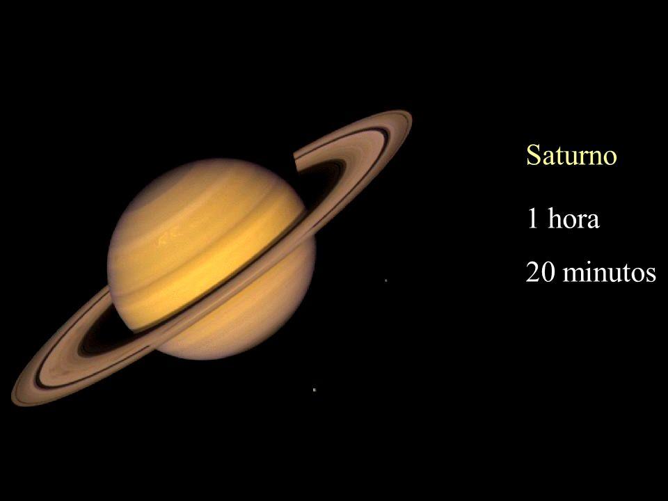 Saturno 1 hora 20 minutos