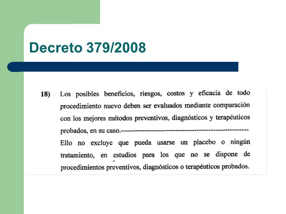 Decreto 379/2008