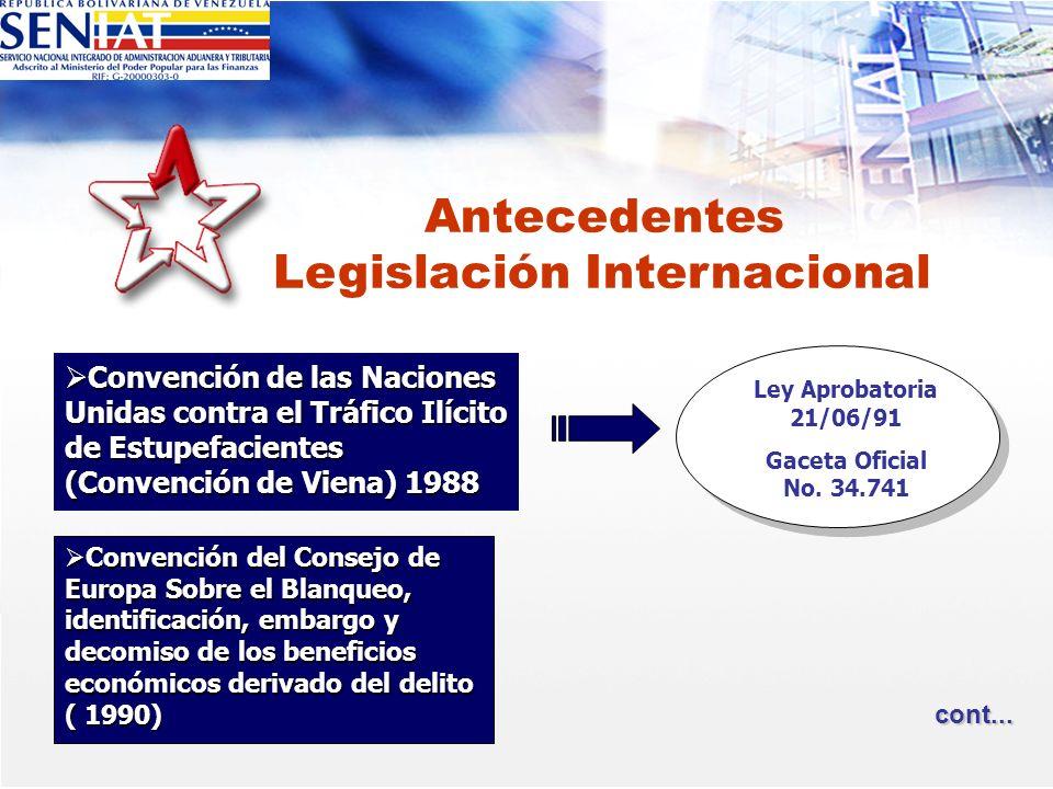 Convención de las Naciones Unidas contra el Tráfico Ilícito de Estupefacientes (Convención de Viena) 1988 Convención de las Naciones Unidas contra el