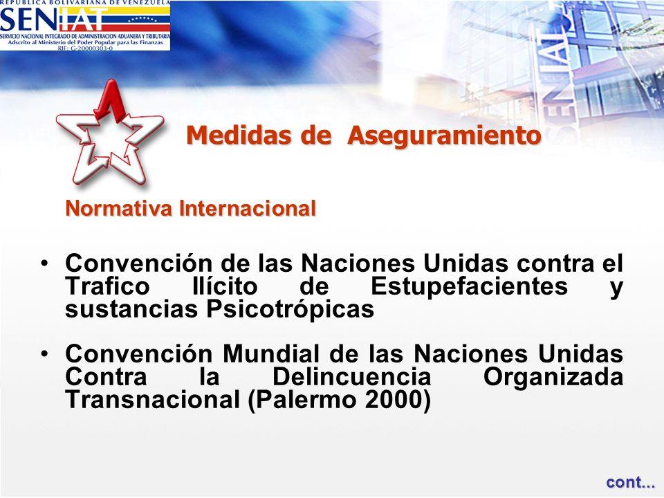 Normativa Internacional Convención de las Naciones Unidas contra el Trafico Ilícito de Estupefacientes y sustancias Psicotrópicas Convención Mundial d