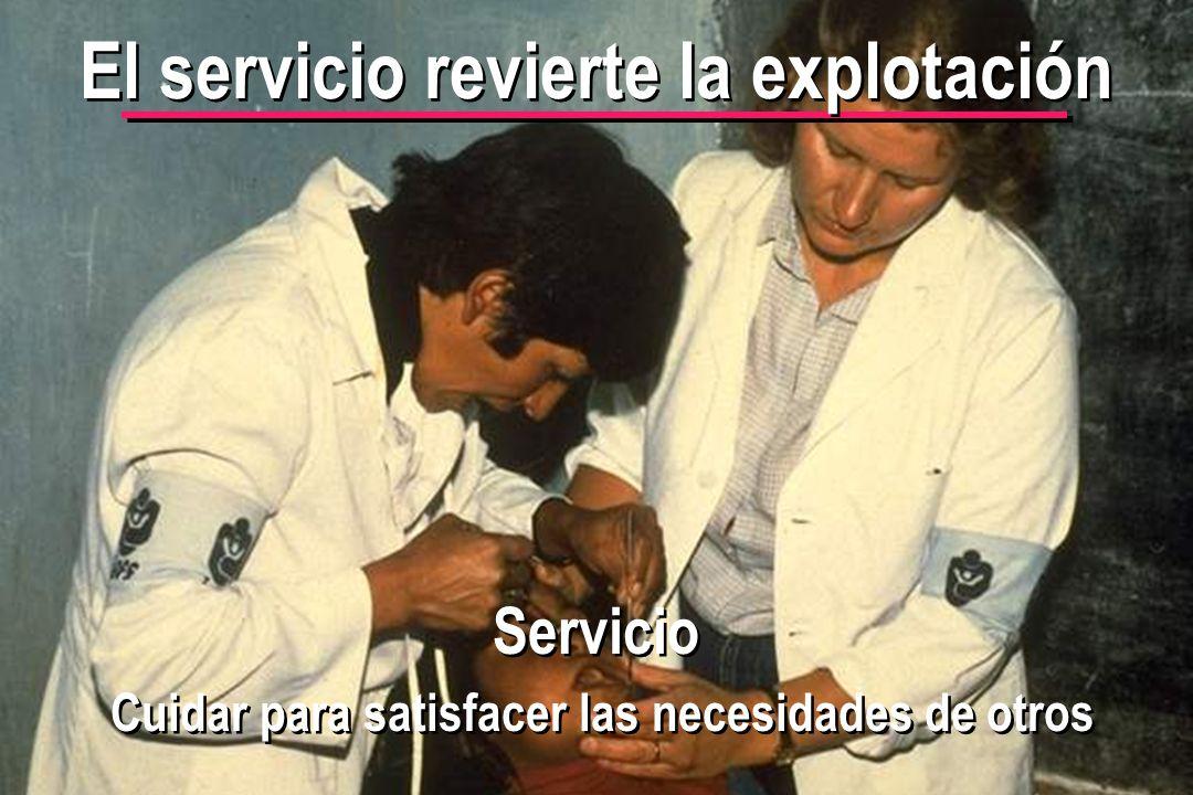 © IEF 50 CRC 4.2.3 El servicio revierte la explotación Servicio Cuidar para satisfacer las necesidades de otros