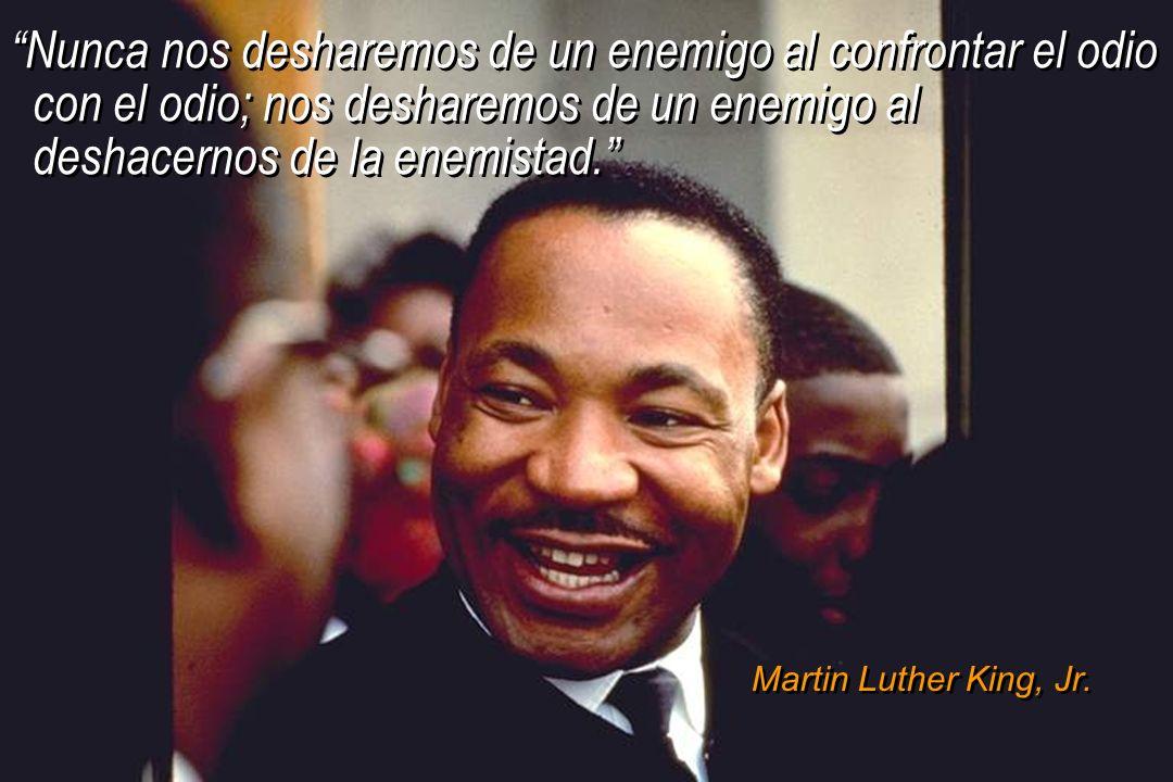 © IEF 53 CRC 4.2.3 Nunca nos desharemos de un enemigo al confrontar el odio con el odio; nos desharemos de un enemigo al deshacernos de la enemistad.