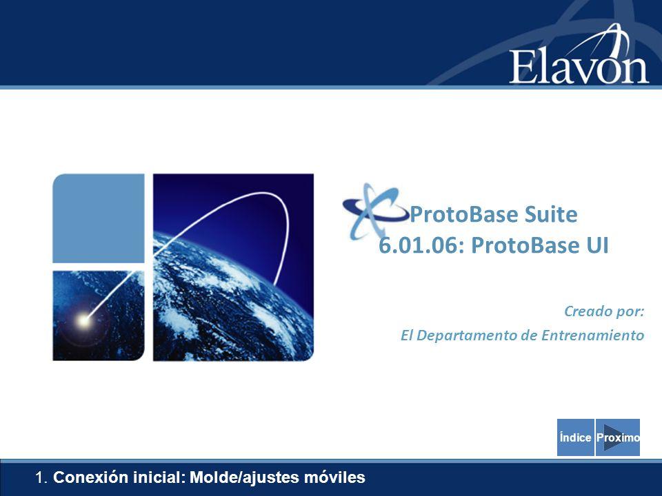 4 Pop-Up Blocker La versión 6.01.06 de ProtoBase utiliza Internet Explorer para exhibir y para utilizar el software.