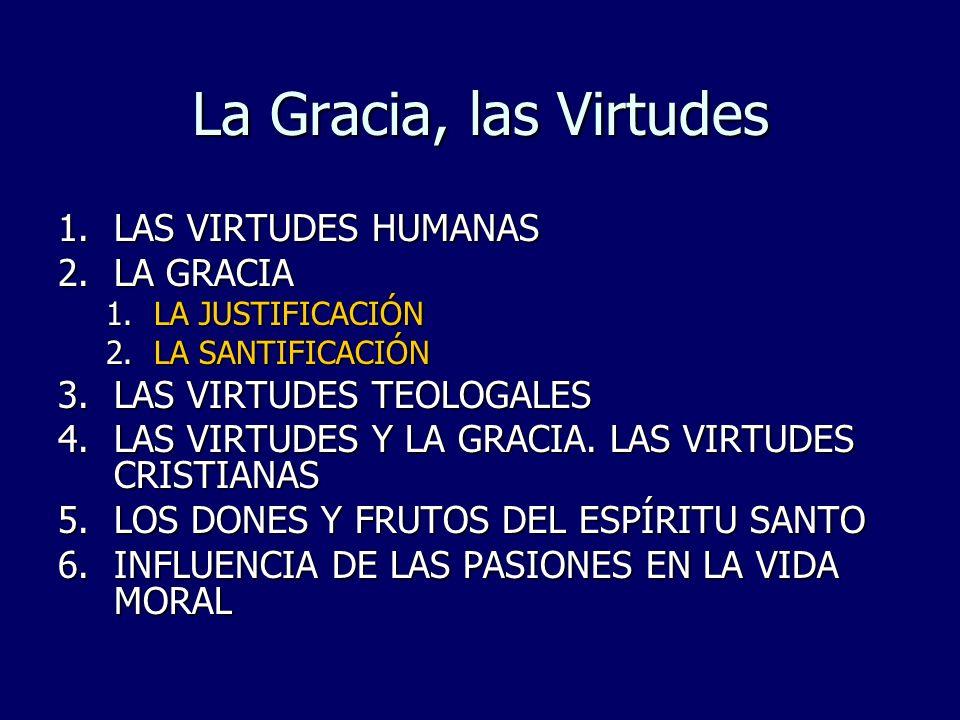 Virtudes humanas, sobrenaturales y dones y frutos…