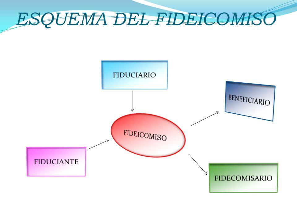 ESQUEMA DEL FIDEICOMISO