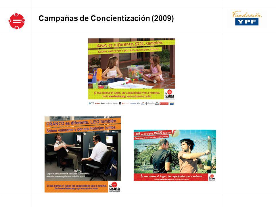 Campañas de Concientización (2009)