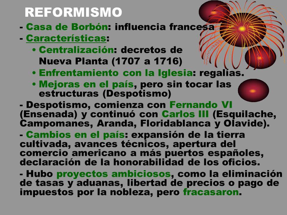 EL PENSAMIENTO ILUSTRADO ESPAÑOL, AL CONTRARIO QUE EL FRANCÉS, NO SE LLEGÓ SI QUIERA A CUESTIONAR LA LEGITIMIDAD DE LA MONARQUÍA ABSOLUTA.
