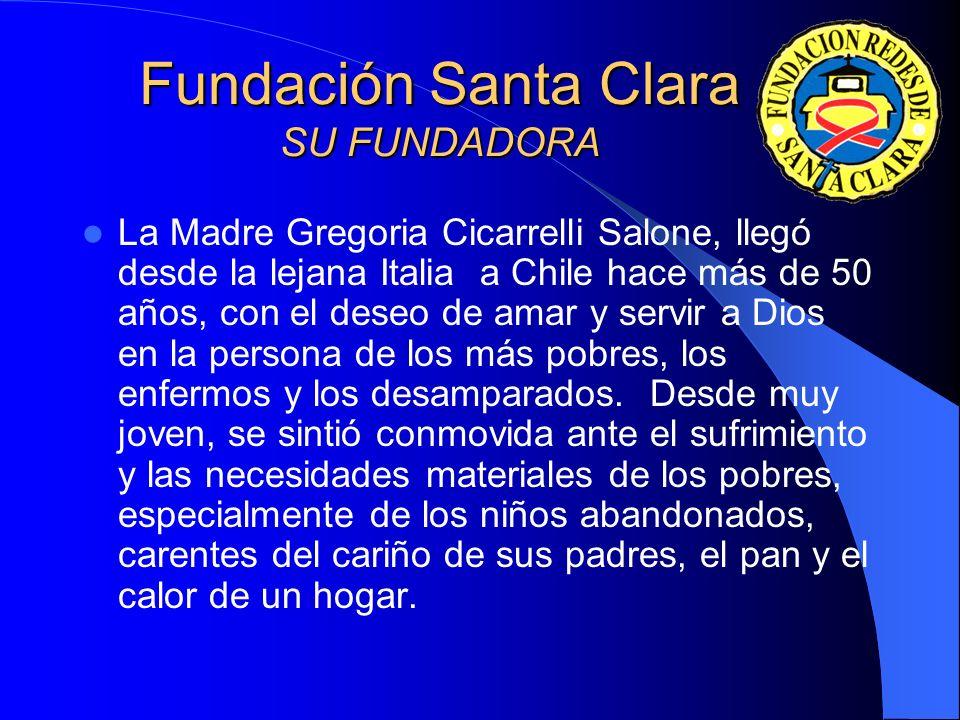 Asimismo la red Santa Clara se preocupa por niños infectados por el virus VIH positivo, adolescentes y familias, en este centro los menores son atendi