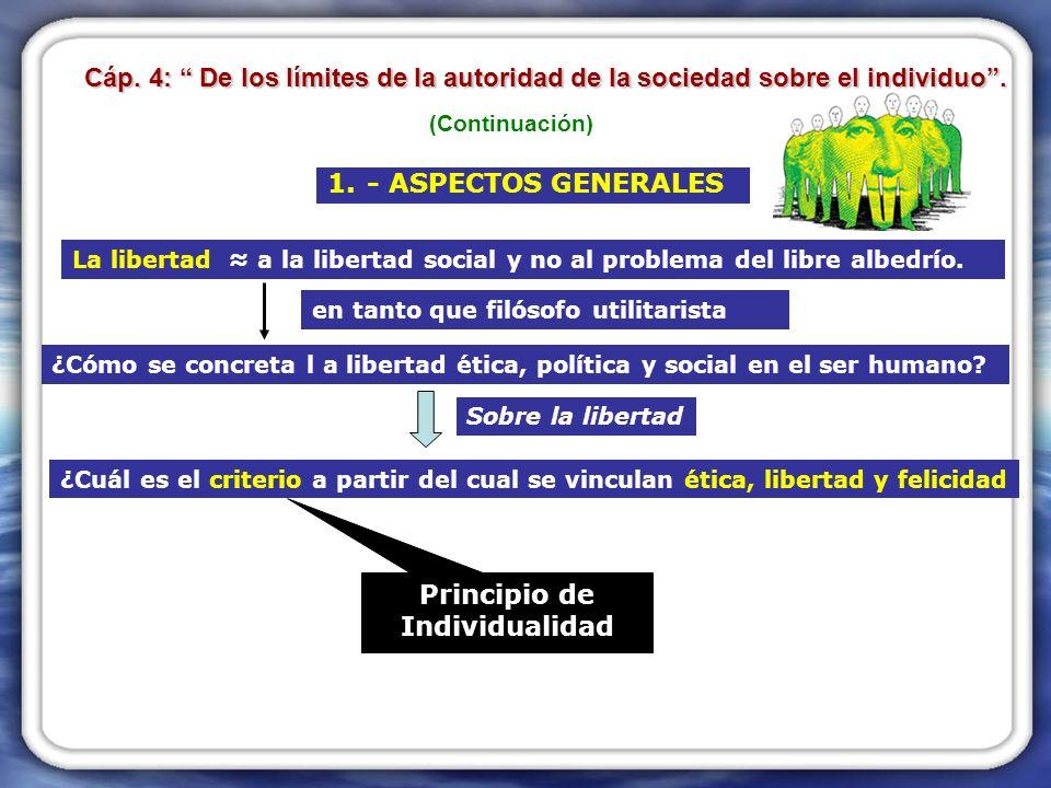 1.- ASPECTOS GENERALES La libertad a la libertad social y no al problema del libre albedrío.