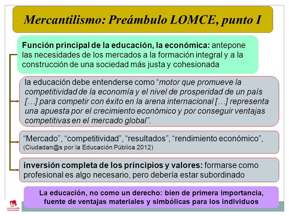 PRIVATIZADORA Introduce por primera vez en una ley el concepto de BENEFICIARIO de la educación.