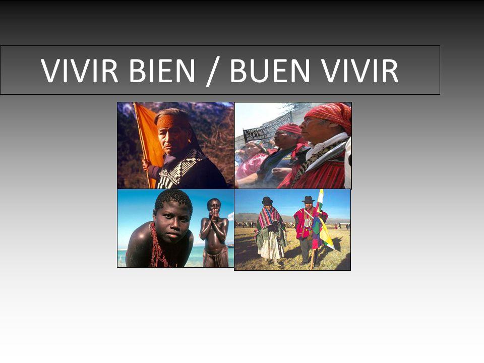 VIVIR BIEN / BUEN VIVIR