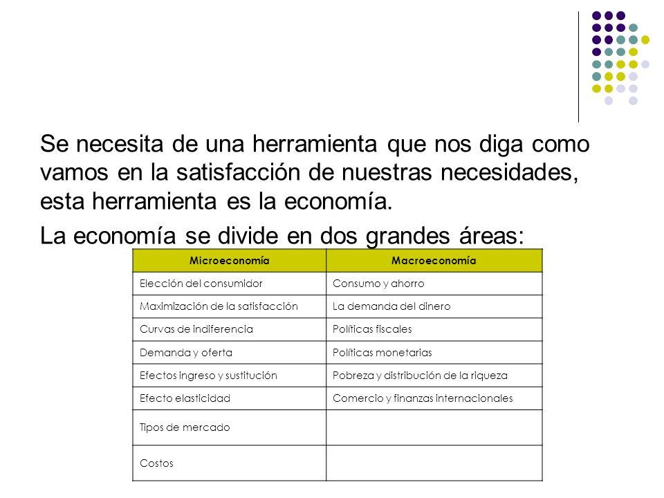 Recta presupuestaría El conjunto de opciones de consumo del consumidor es el conjunto de todas las canastas factibles para el consumidor.