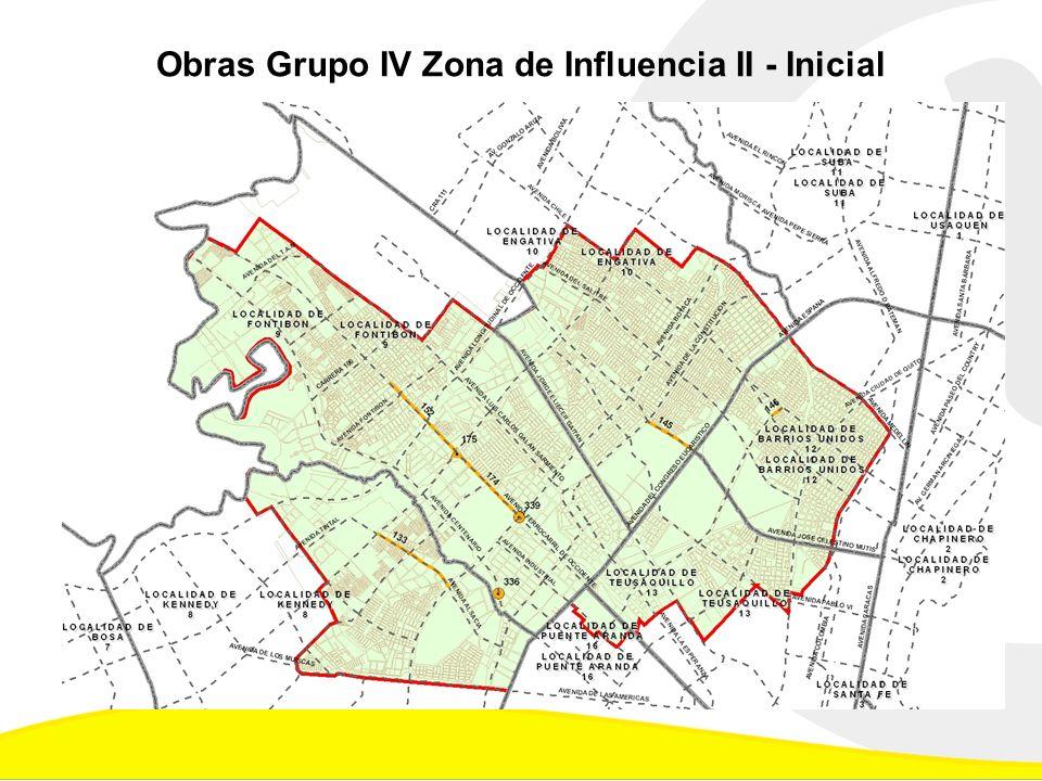 Obras Grupo IV Zona de Influencia II - Inicial