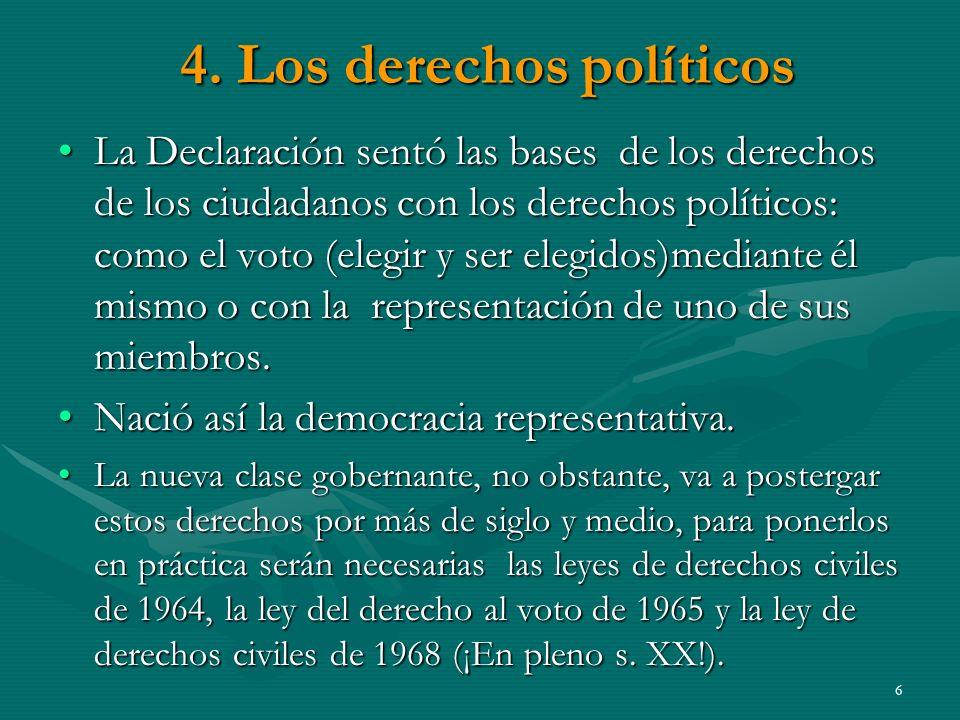 4.Los derechos políticos 4.