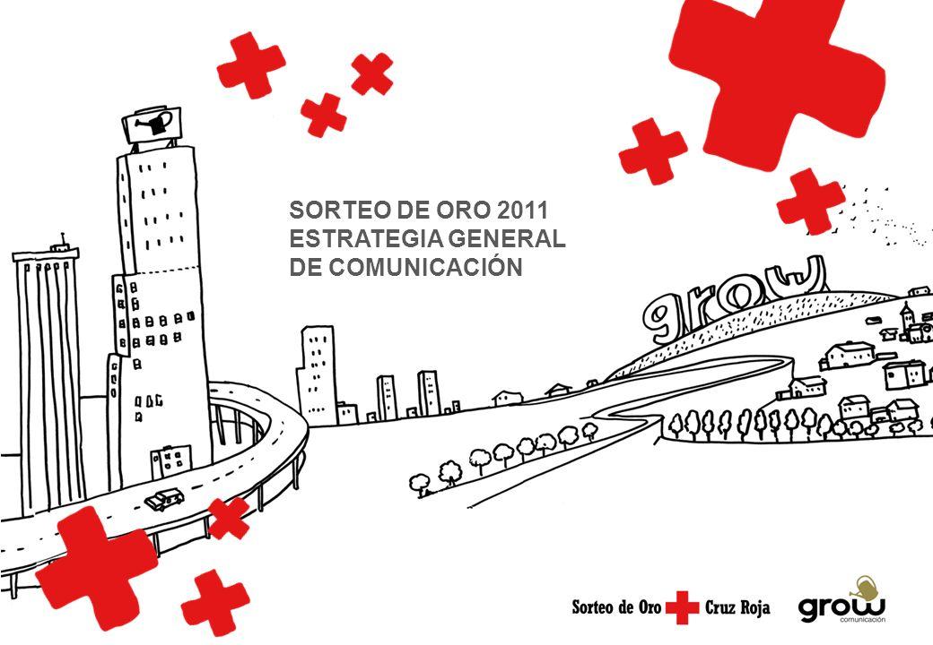 SORTEO DE ORO 2011 ESTRATEGIA GENERAL DE COMUNICACIÓN