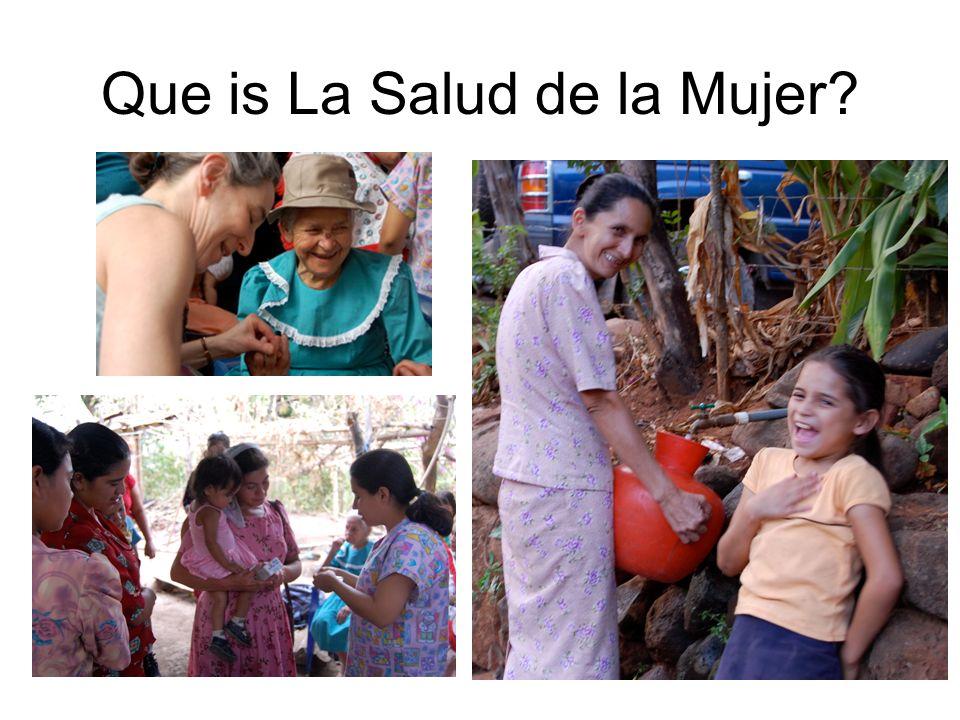 Que is La Salud de la Mujer