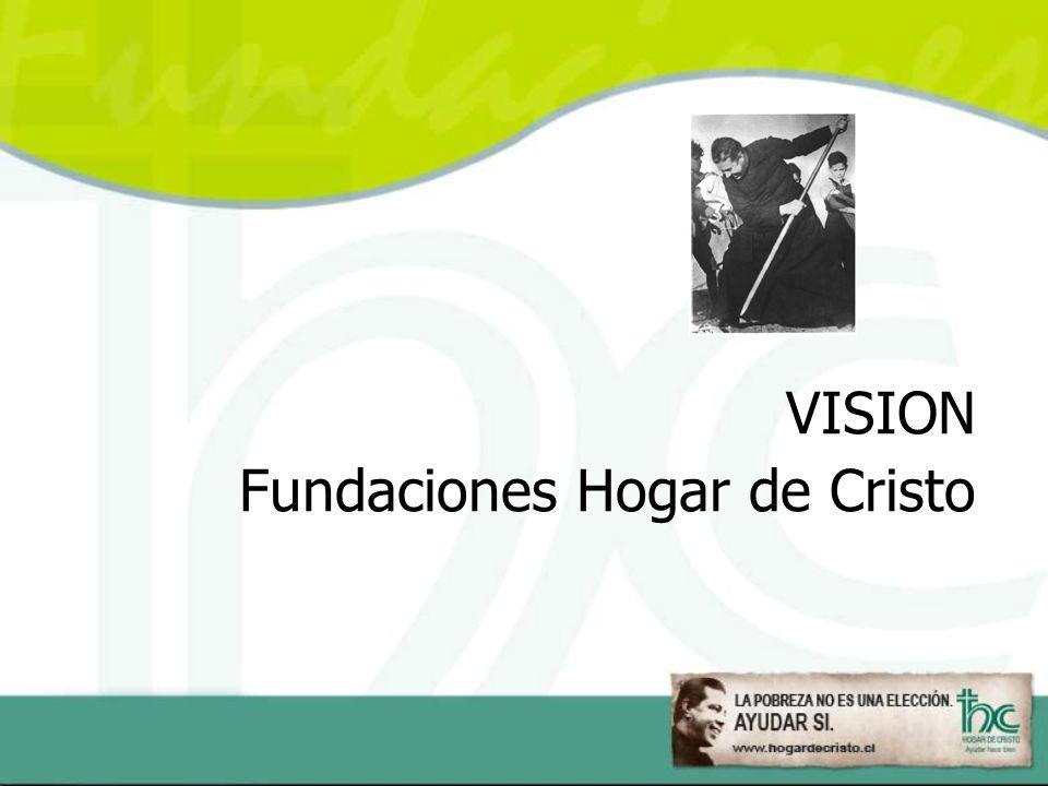 VISION Fundaciones Hogar de Cristo