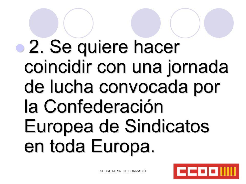 SECRETARIA DE FORMACIÓ 2.