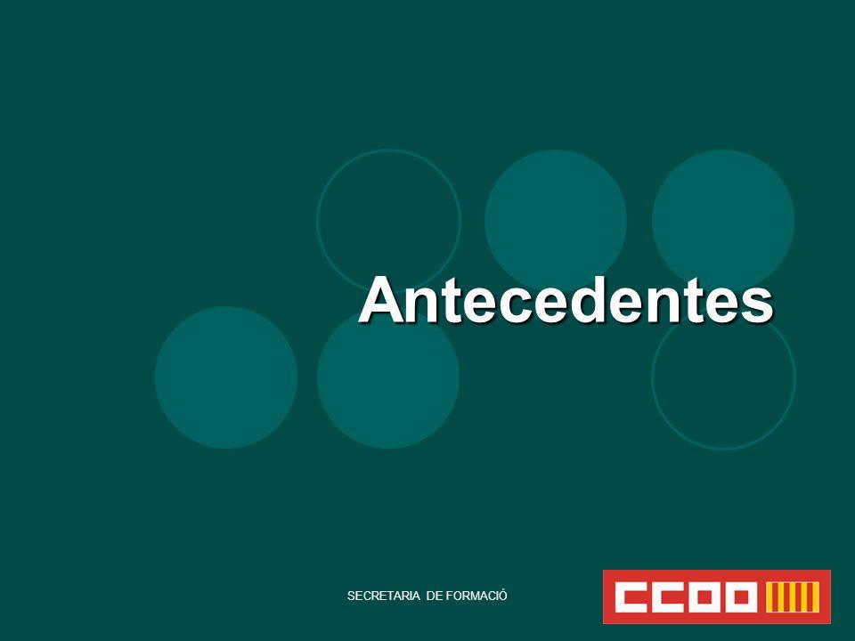 SECRETARIA DE FORMACIÓ Nuevas medidas de recorte que afectarán al gasto social ( ej.