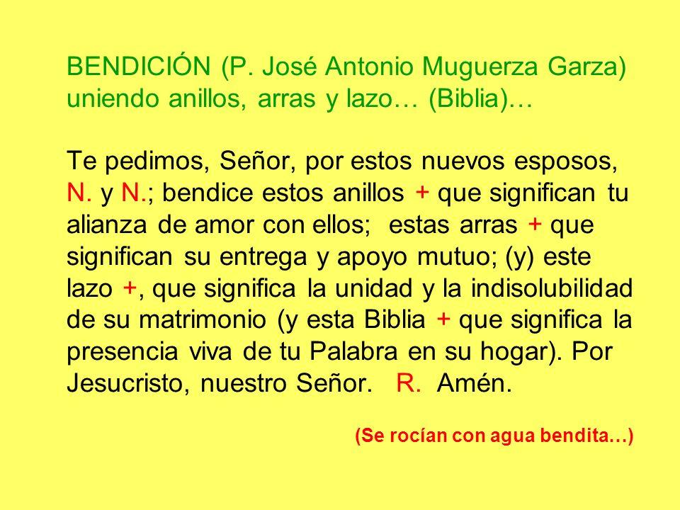 BENDICIÓN (P.