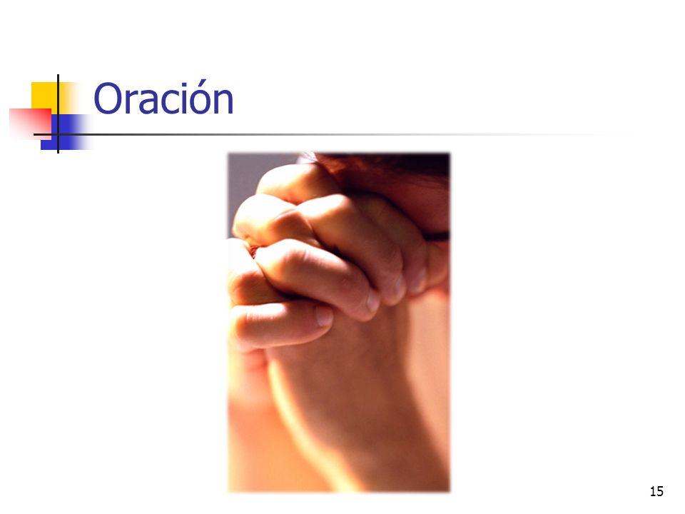 Oración 15
