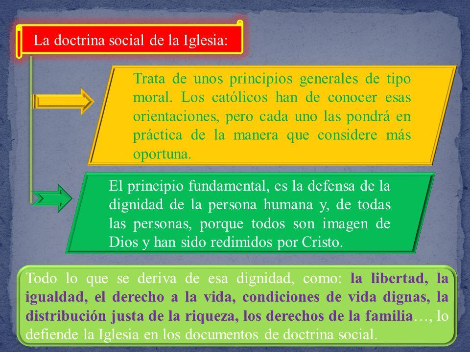 Los cristianos, como ciudadanos libres y responsables deben participar en la construcción de la sociedad en la que viven, adecuándola a las necesidade