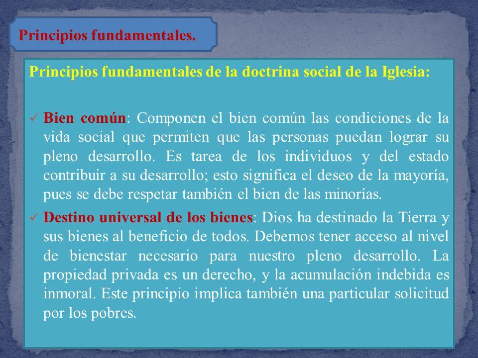 Los derechos humanos Juan Pablo II escribió: «El fundamento sobre el que se basan todos los derechos humanos es la dignidad de la persona. En efecto,