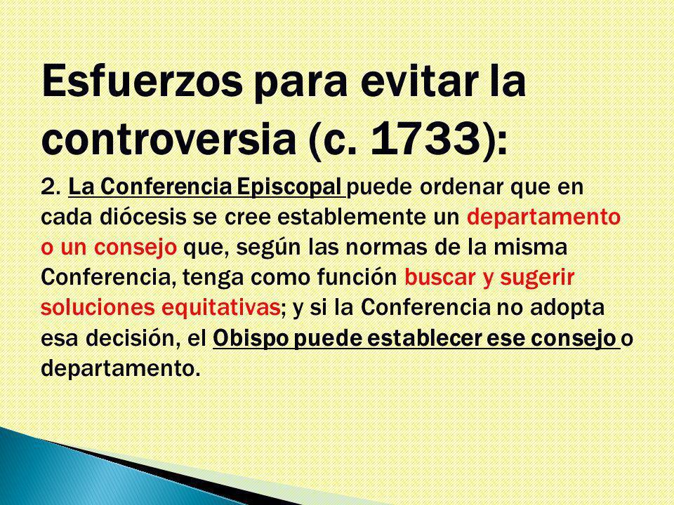 Esfuerzos para evitar la controversia (c. 1733): 2.