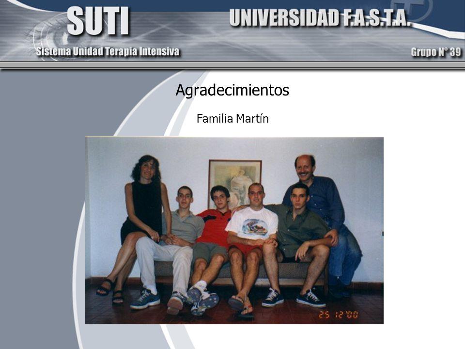 Agradecimientos Familia Martín