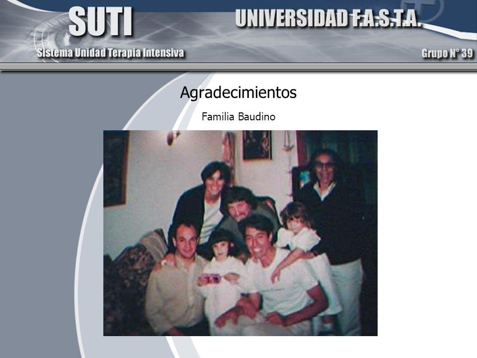 Agradecimientos Familia Baudino