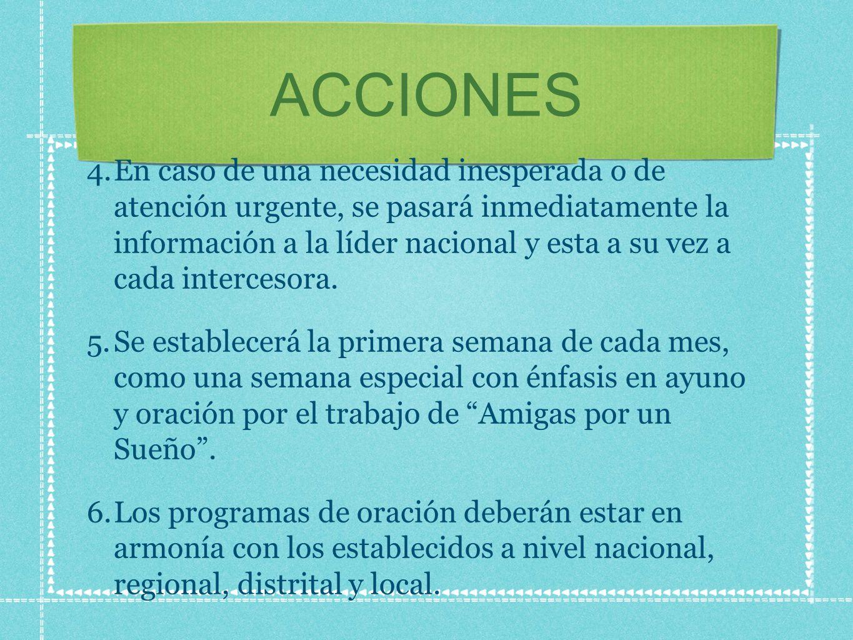 ACCIONES 4.