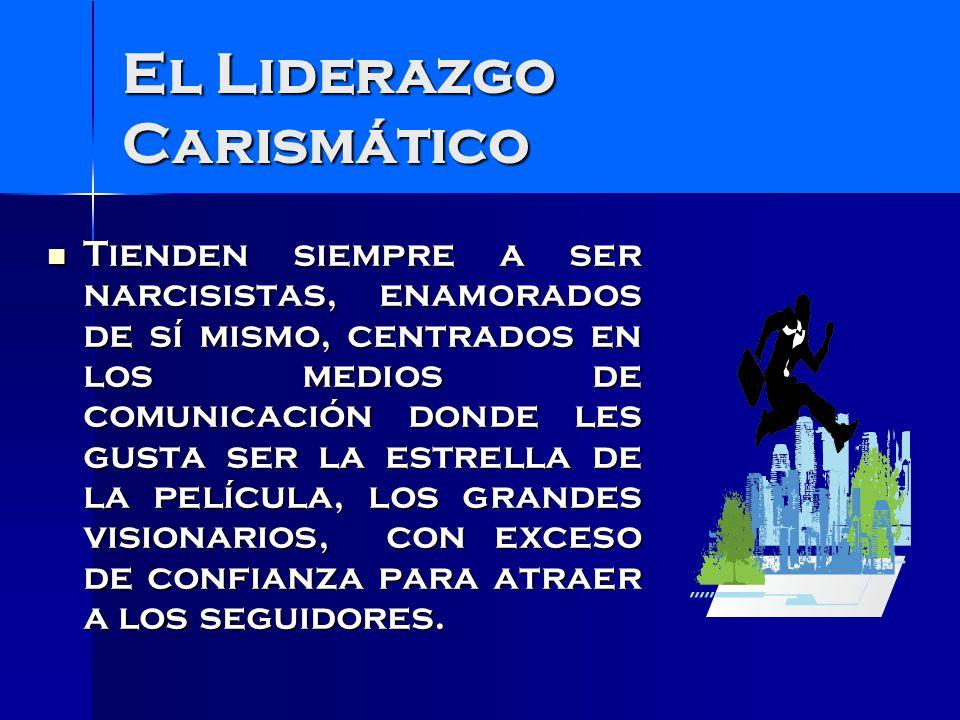 Liderazgos Visionarios ¿Puede las personas aprender a ser líderes carismáticos.