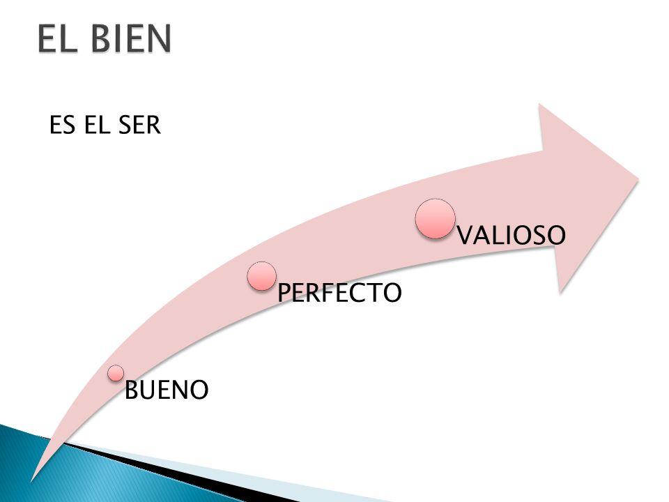 ES EL SER BUENO PERFECTO VALIOSO