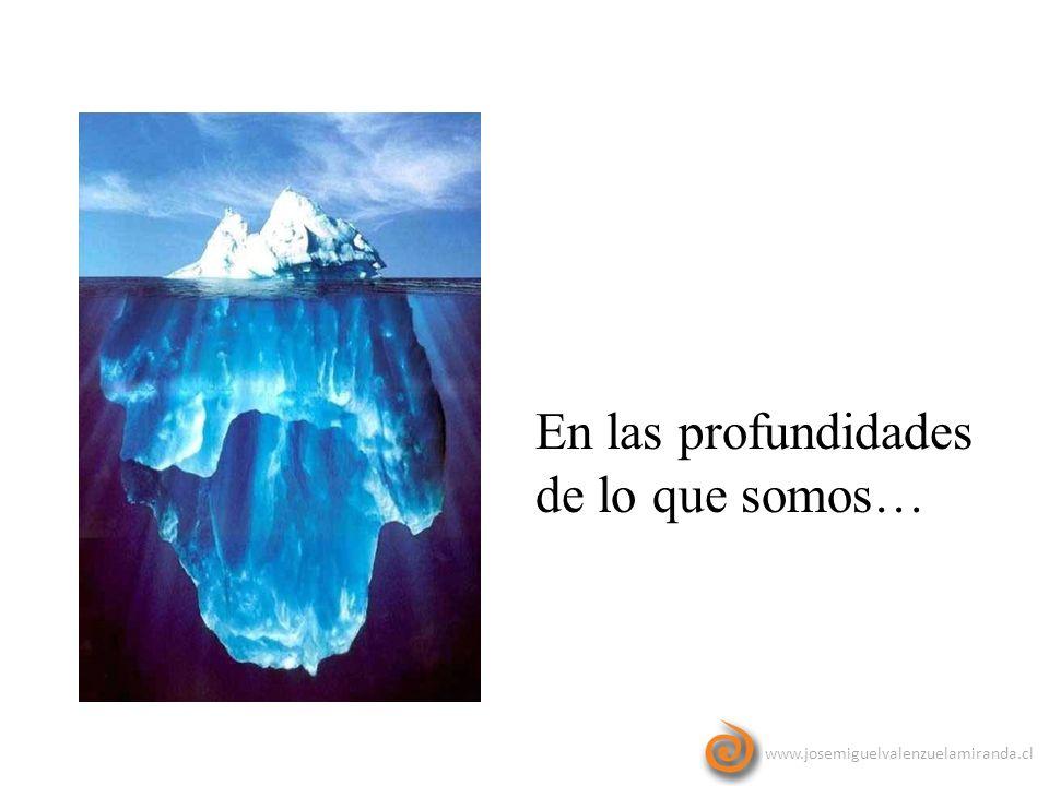 www.josemiguelvalenzuelamiranda.cl En las profundidades de lo que somos…