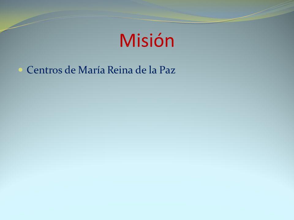 Centros de María Reina de la Paz