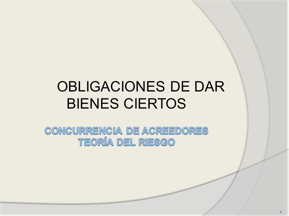 OBLIGACIONES DE DAR BIENES CIERTOS 4