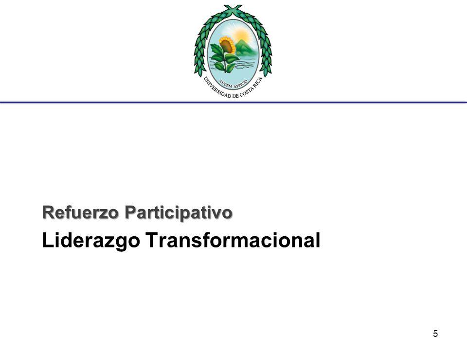Liderazgo Transformacional Refuerzo Participativo 5