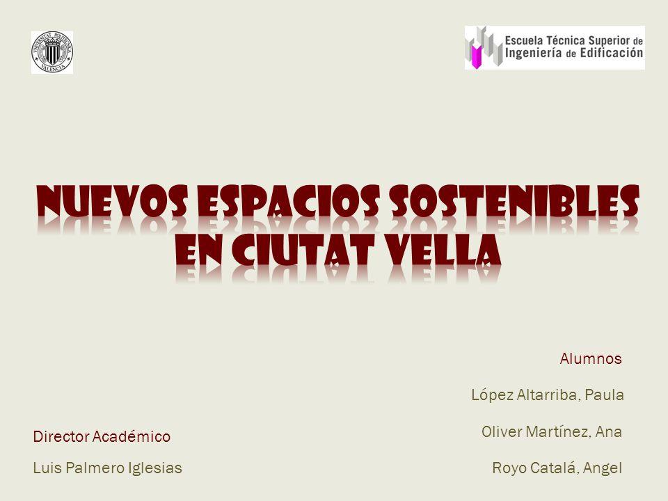 Director Académico Luis Palmero Iglesias López Altarriba, Paula Oliver Martínez, Ana Royo Catalá, Angel Alumnos