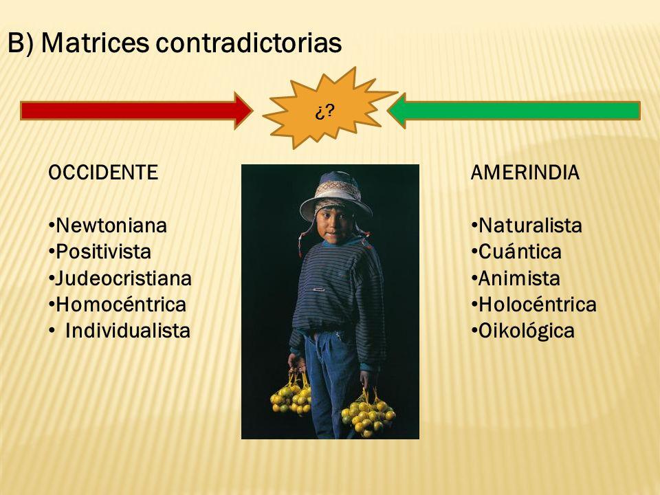 C) DESARROLLO+SUBDESARROLLO VS.