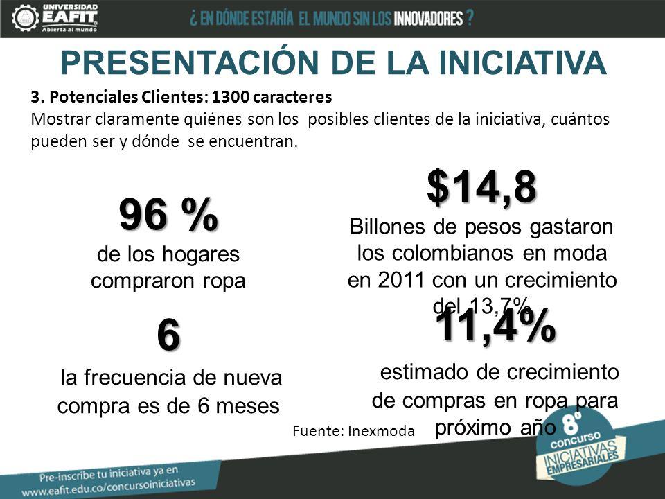 PRESENTACIÓN DE LA INICIATIVA 3.