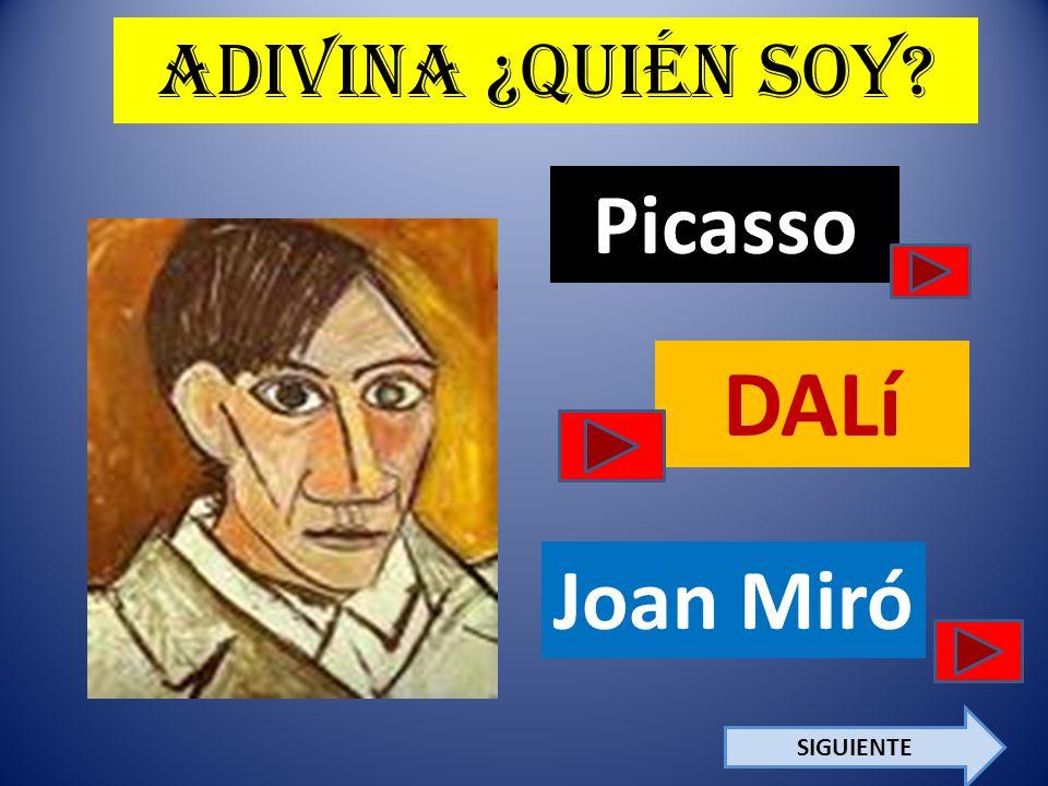 ¡Sí, Soy yo.. Picasso Escriban tres cosas interesantes sobre mi vida por abajo. 1. 2. 3.